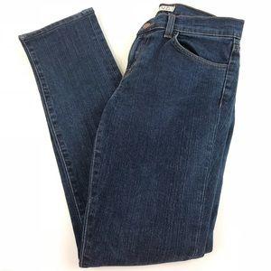 J Brand Jeans 27 Straight Leg Dark Wash Blue